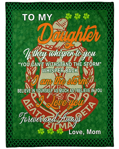 Delta Sigma Theta - TO MY DAUGHTER GIFT OF MOM