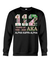 112 year of 1908 - 2020 Alpha Kappa Alpha Crewneck Sweatshirt thumbnail
