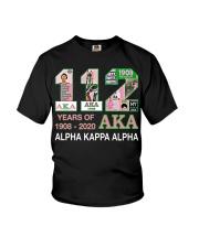 112 year of 1908 - 2020 Alpha Kappa Alpha Youth T-Shirt thumbnail