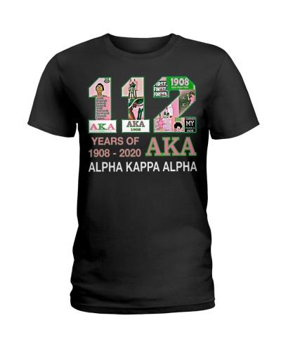 112 year of 1908 - 2020 Alpha Kappa Alpha