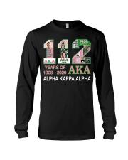 112 year of 1908 - 2020 Alpha Kappa Alpha Long Sleeve Tee thumbnail