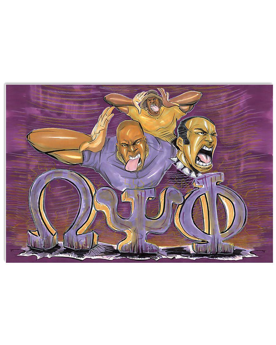 Omega Psi Phi 36x24 Poster