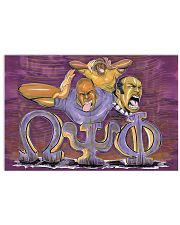 Omega Psi Phi 36x24 Poster front