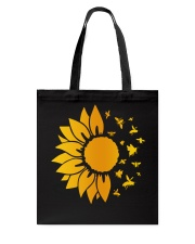 sunflower with honey bee  Tote Bag thumbnail