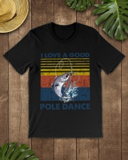 Fishing I Love A Good Pole Dance Classic T-Shirt lifestyle-mens-crewneck-front-18