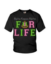 Alpha Kappa Alpha for life Youth T-Shirt thumbnail