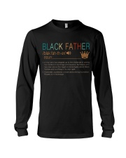 Black Father  Long Sleeve Tee tile