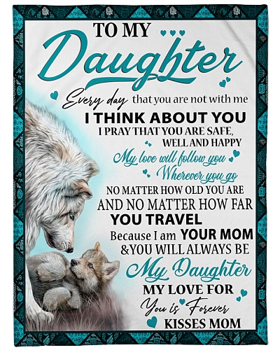 Wolf my daughter my love for you is forever
