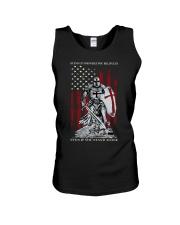 Knight Templar Crusader Warrior American Flag Unisex Tank thumbnail