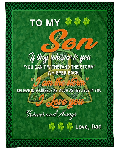 TO MY SON IRISH GIFT OF DAD