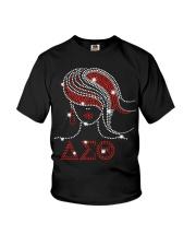 Afro Girls Delta Sigma Theta Sorority Youth T-Shirt thumbnail