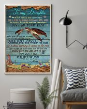 MOM TO DAUGHTER - TURTLE  24x36 Poster lifestyle-poster-1