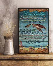 MOM TO DAUGHTER - TURTLE  24x36 Poster lifestyle-poster-3