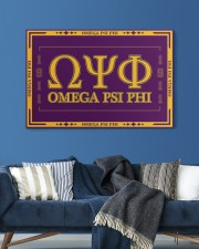 Omega Psi Phi 30x20 Gallery Wrapped Canvas Prints aos-canvas-pgw-30x20-lifestyle-front-06