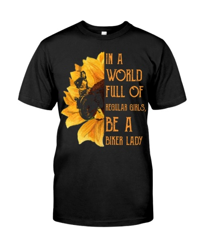 Be a biker lady tshirt