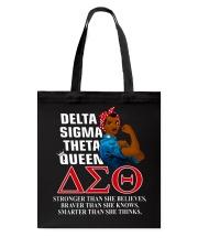 Delta Sigma Theta Queen Tote Bag thumbnail