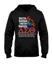 Delta Sigma Theta Queen Hooded Sweatshirt thumbnail