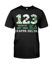 123 year of 1897 - 2020 Kappa Delta Classic T-Shirt tile