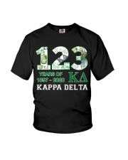 123 year of 1897 - 2020 Kappa Delta Youth T-Shirt tile