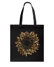 Leopard Sunflower Tote Bag thumbnail