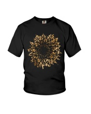 Leopard Sunflower Youth T-Shirt thumbnail