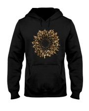 Leopard Sunflower Hooded Sweatshirt thumbnail