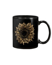 Leopard Sunflower Mug tile