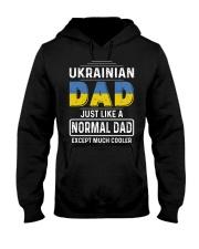 Ukrainian Dad just like a normal dad  Hooded Sweatshirt thumbnail