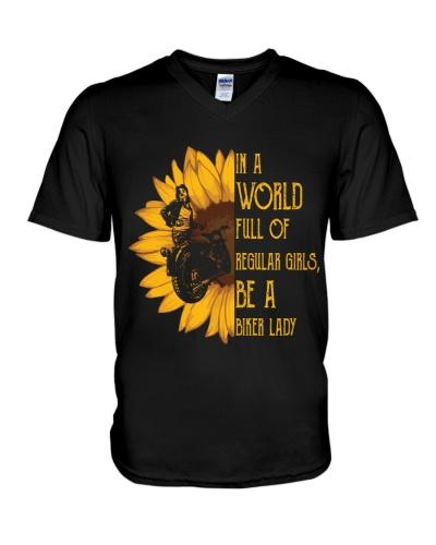 IN A WORLD FULL OF REGULAR E A BIKER LADY