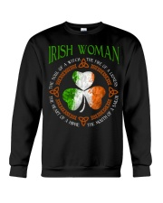 Irish woman the soul of a witch  Crewneck Sweatshirt tile