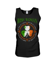 Irish woman the soul of a witch  Unisex Tank tile