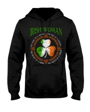 Irish woman the soul of a witch  Hooded Sweatshirt thumbnail
