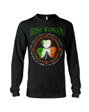 Irish woman the soul of a witch  Long Sleeve Tee thumbnail
