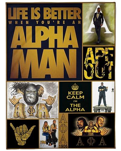 keep calm i'm the Alpha Man