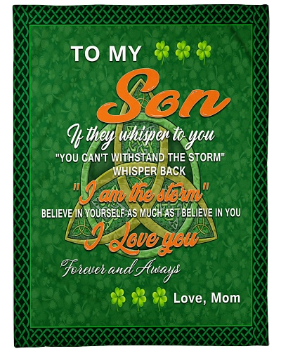 TO MY SON IRISH GIFT OF MOM