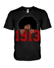 Delta Sorority DST 1913 V-Neck T-Shirt thumbnail
