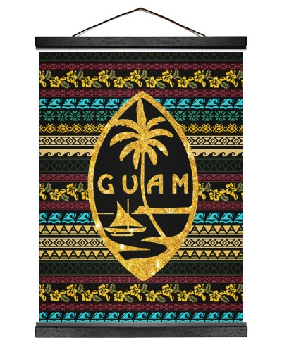 Guam Polynesian Color Pattern