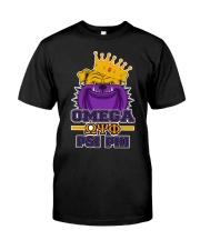 Omega Psi Phi bulldog  Classic T-Shirt thumbnail
