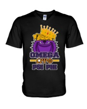 Omega Psi Phi bulldog  V-Neck T-Shirt thumbnail