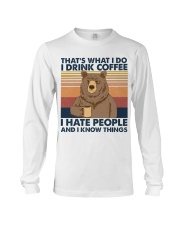 Camping That's What I Do Long Sleeve Tee thumbnail