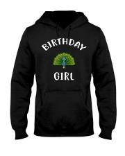 Birthday Girl PEACOCK T-Shirt PEACOCK Shir Hooded Sweatshirt thumbnail
