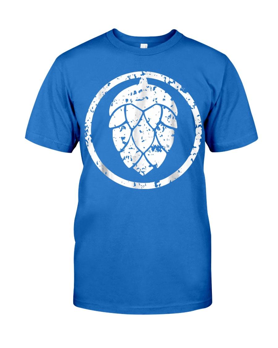 IPA T-Shirt  Craft Beer Hops Logo Shirt  Premium Fit Mens Tee