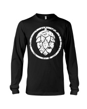 IPA T-Shirt  Craft Beer Hops Logo Shirt  Long Sleeve Tee thumbnail
