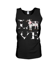 Cute Cow Print I Love Cows Women Kids P Unisex Tank thumbnail