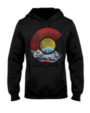 Colorado Shirt with Flag Themed Mountain Hooded Sweatshirt thumbnail