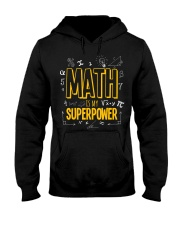 Funny Math Is My Superpower Algebra Lover Hooded Sweatshirt thumbnail
