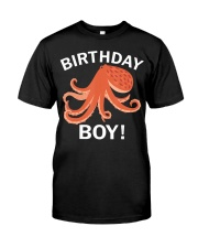 Birthday Boy Octopus T-Shirt Premium Fit Mens Tee tile