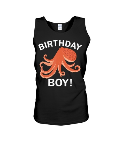 Birthday Boy Octopus T-Shirt
