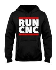 RUN CNC shirt Funny machinist engineer G-c Hooded Sweatshirt thumbnail