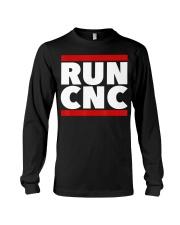 RUN CNC shirt Funny machinist engineer G-c Long Sleeve Tee thumbnail